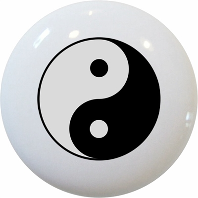 Yin yang knob for Decoration murale yin yang